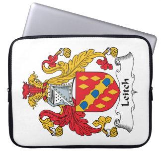 Escudo de la familia de Leitch Mangas Computadora