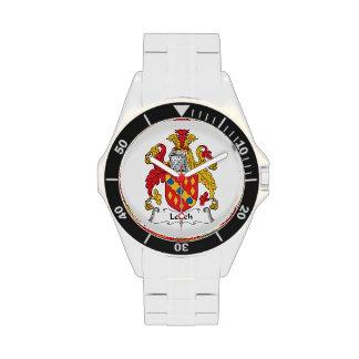 Escudo de la familia de Leitch Relojes De Mano