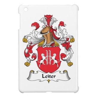 Escudo de la familia de Leiter iPad Mini Funda