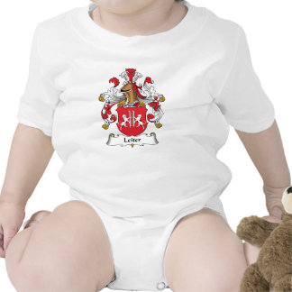 Escudo de la familia de Leiter Trajes De Bebé