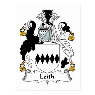 Escudo de la familia de Leith Postales