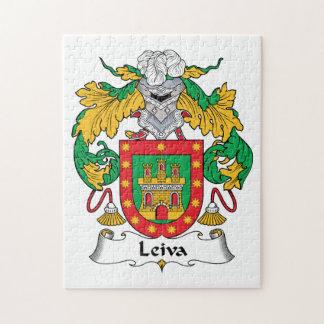 Escudo de la familia de Leiva Rompecabeza