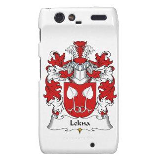 Escudo de la familia de Lekna Motorola Droid RAZR Fundas