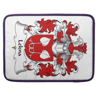 Escudo de la familia de Lekna Fundas Para Macbook Pro