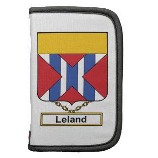 Escudo de la familia de Leland Planificadores