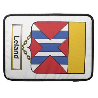 Escudo de la familia de Leland Fundas Para Macbook Pro