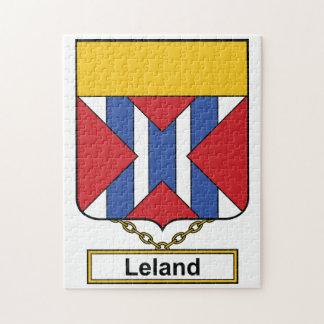 Escudo de la familia de Leland Puzzle Con Fotos
