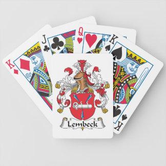 Escudo de la familia de Lembeck Cartas De Juego