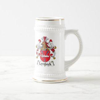 Escudo de la familia de Lembeck Jarra De Cerveza