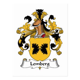 Escudo de la familia de Lemberg Postales