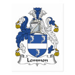 Escudo de la familia de Lemmon Postal
