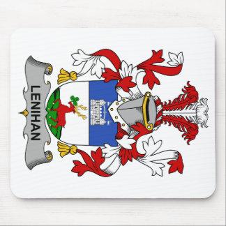 Escudo de la familia de Lenihan Alfombrillas De Raton