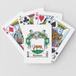 Escudo de la familia de Lennon Baraja Cartas De Poker