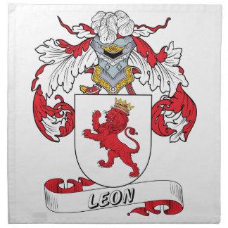 Escudo de la familia de León Servilletas De Papel
