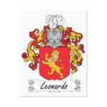 Escudo de la familia de Leonardo Lona Estirada Galerías