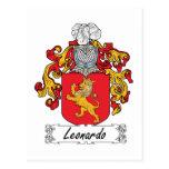 Escudo de la familia de Leonardo Postal