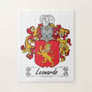 Escudo de la familia de Leonardo Rompecabeza