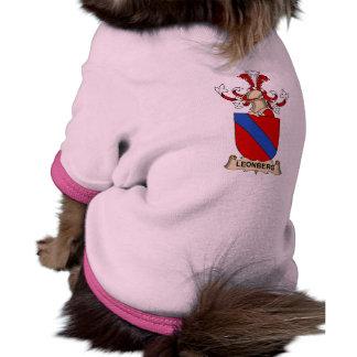 Escudo de la familia de Leonberg Ropa Para Mascota