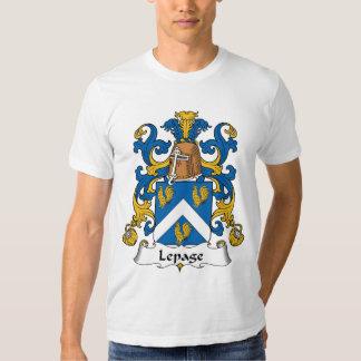 Escudo de la familia de Lepage Remeras