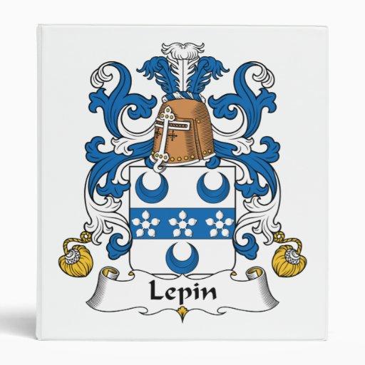 Escudo de la familia de Lepin
