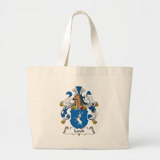 Escudo de la familia de Lerch Bolsa Tela Grande