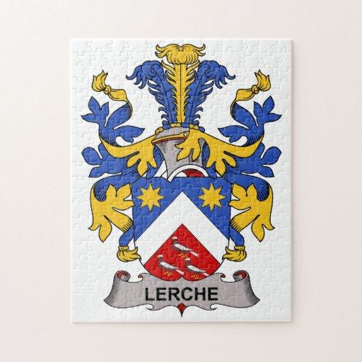 Escudo de la familia de Lerche Rompecabeza