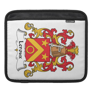 Escudo de la familia de Leroux Mangas De iPad