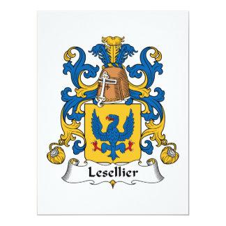 Escudo de la familia de Lesellier Comunicados Personales