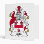 Escudo de la familia de Lester