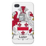 Escudo de la familia de Lester iPhone 4 Cárcasa
