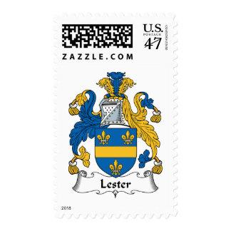 Escudo de la familia de Lester Sellos