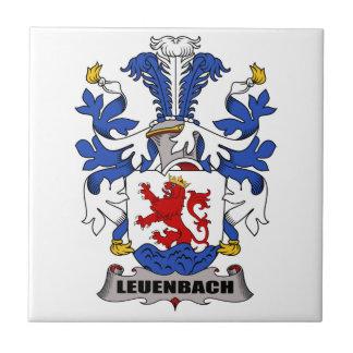 Escudo de la familia de Leuenbach Azulejos Ceramicos