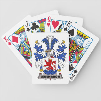 Escudo de la familia de Leuenbach Barajas De Cartas