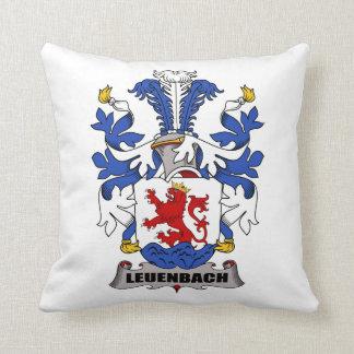 Escudo de la familia de Leuenbach Almohadas