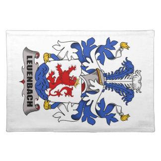 Escudo de la familia de Leuenbach Manteles