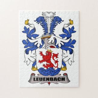 Escudo de la familia de Leuenbach Puzzle Con Fotos
