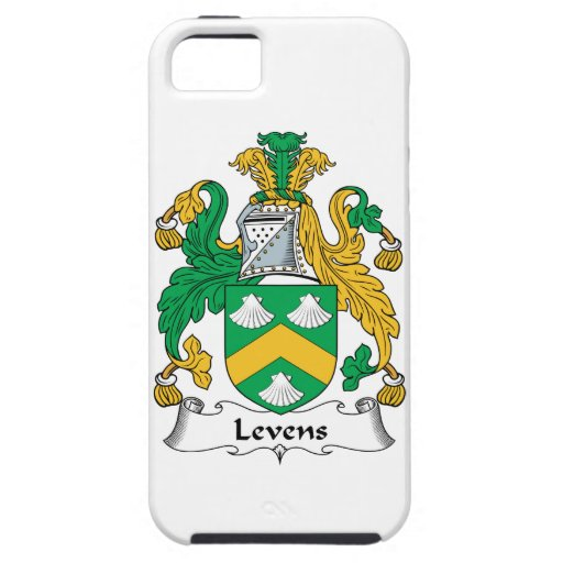 Escudo de la familia de Levens iPhone 5 Cárcasas