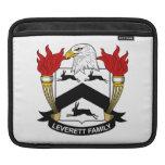 Escudo de la familia de Leverett Funda Para iPads