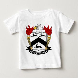 Escudo de la familia de Leverett Tshirts