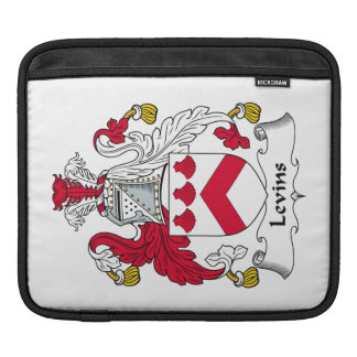 Escudo de la familia de Levins Funda Para iPads