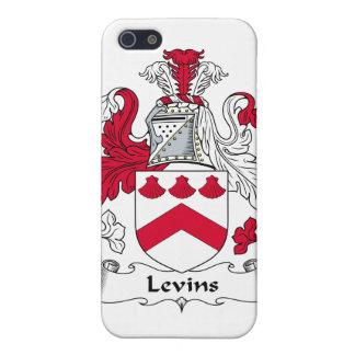 Escudo de la familia de Levins iPhone 5 Carcasa