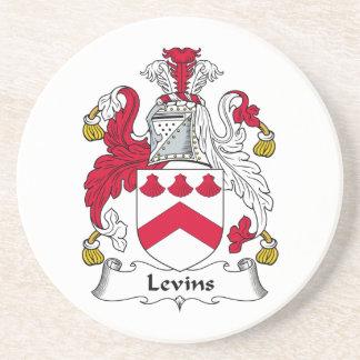 Escudo de la familia de Levins Posavasos Cerveza