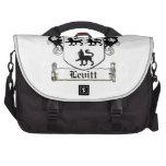 Escudo de la familia de Levitt Bolsas Para Portatil