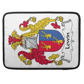 Escudo de la familia de Lewin Funda Para Macbooks
