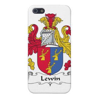 Escudo de la familia de Lewin iPhone 5 Protector