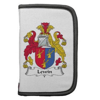 Escudo de la familia de Lewin Planificador