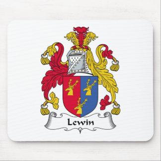 Escudo de la familia de Lewin Alfombrillas De Ratones