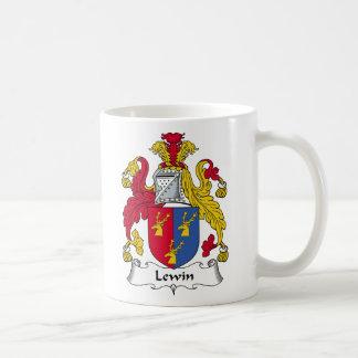 Escudo de la familia de Lewin Tazas