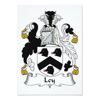 """Escudo de la familia de Ley Invitación 5"""" X 7"""""""
