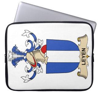 Escudo de la familia de Leyen Funda Computadora